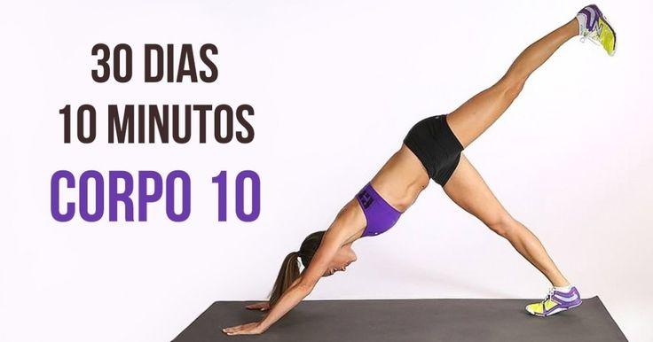 Desafio fitness de4semanas para transformar todo oseu corpo