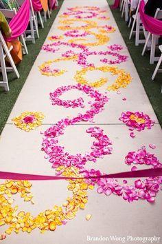 Orange Decor, Wedding Ceremonies, Decor Indian, Bright Pink, Indian Weddings, Decoration'S Indian, Wedding Decorations Indian, Indian Wedding Decorations, ...