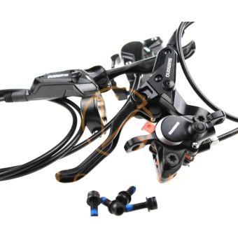 อย่าช้า  New SHIMANO BR-BL-M315 MTB bike Hydraulic Disc Brake Set Front andRear Black - intl  ราคาเพียง  2,007 บาท  เท่านั้น คุณสมบัติ มีดังนี้ Product Details: Condition:&Brand New Model:&Shimano BR-M315/BL-M315 Rotor size:160mm Brake Hose:SM-BH59 Color:&Black