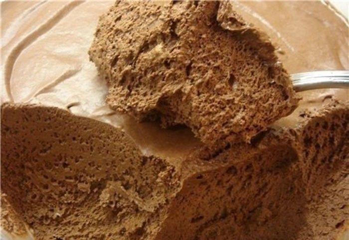 Čokoládová pěna z kvalitní čokolády