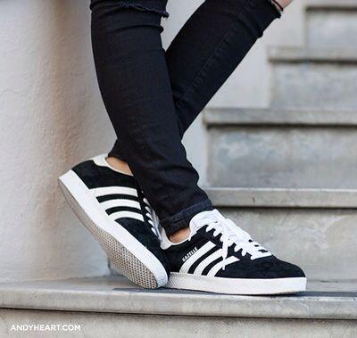 Adidas Stan Smith Black Stripes