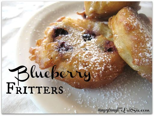 Blueberry Fritters Recipe on Yummly
