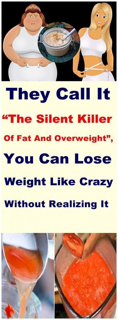 """Sie nennen es """"den stillen Mörder von Fett und Übergewicht"""", Sie können abnehmen"""