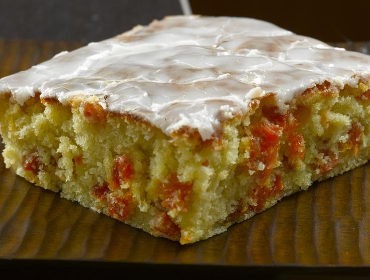 Orange Cake White Chololate