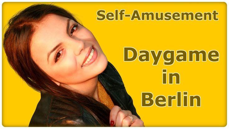 Self-Amusement - Daygame Infield deutsch - Pick-Up Berlin