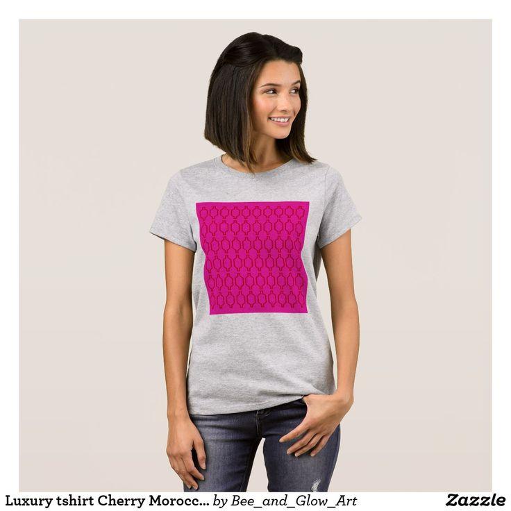 Luxury tshirt Cherry Morocco Summer
