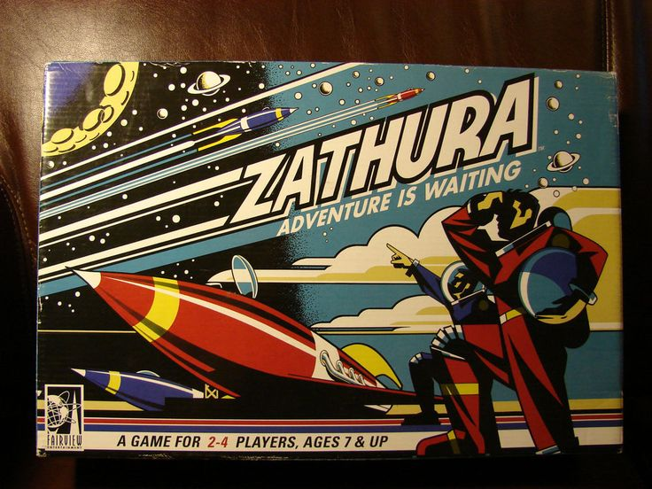Zathura: Adventure is Waiting (2005) by Pressman ages 7 & up #PressmanToyCorp