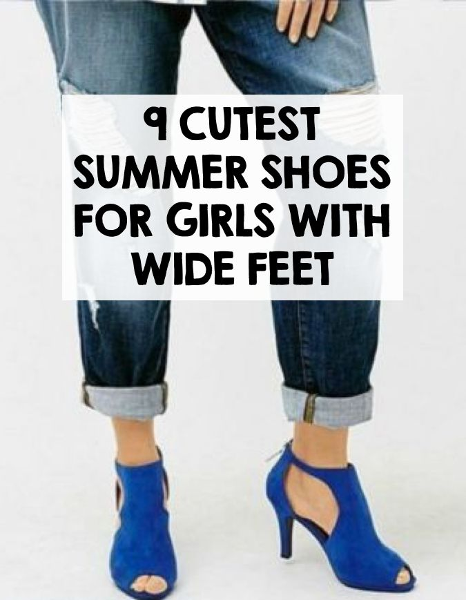 For most people, shoe shopping is a blast, trying on all the latest styles, and coming home with a brand new collection of heels, sandals, and booties. But if you have wide feet, you know the struggle that is shoe shopping. Take a look at this list of adorable, stylish shoes for wide feet! Avon lace-up wedge sandals are perfect for summer and go great with a flowing bohemian dress. Cobb Hill Ireland offers a women's fisherman flat in a fun pewter shade. Visit eBay for more great shoe…