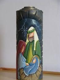 Resultado de imagen para velones decorados para navidad