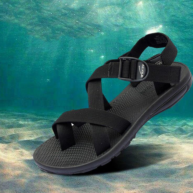 $29.99 (Buy here: https://alitems.com/g/1e8d114494ebda23ff8b16525dc3e8/?i=5&ulp=https%3A%2F%2Fwww.aliexpress.com%2Fitem%2F2014-men-s-sandals-hot-quality-rubber-sandals-men-outdoor-sports-summer-fashion-sandals-shoes-plus%2F1916418249.html ) Men sandals summer 2016 high quality 100% rubber sole summer sandals men sandalia masculina plus size 38 - 44 05 for just $29.99
