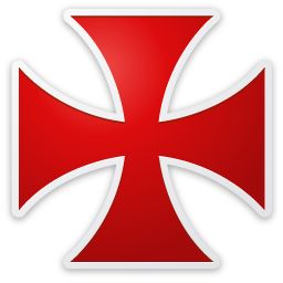 Masonic Knights Templar clipart