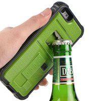 S家の活動記録: ZVE iPhone6 ケース アイフォン6S ケース ライター 栓抜き カメラ三脚機能付き ケース...