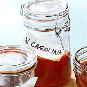 North Carolina-Style BBQ Sauce Recipe -Blending two vinegars helps re-create the BBQ sauce we love from my mother's North Carolina roots. — Gloria McKinley, Lakeland, Florida