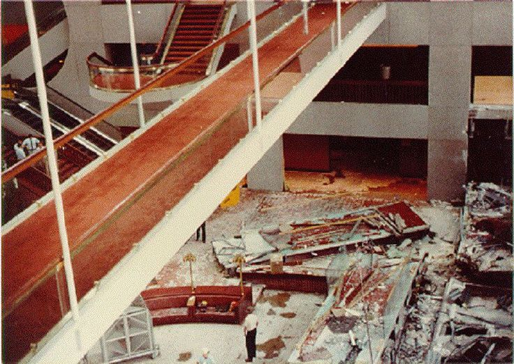 The Hyatt Regency Hotel walkway collapse is the worst structural engineering disaster in history that should never have happened.
