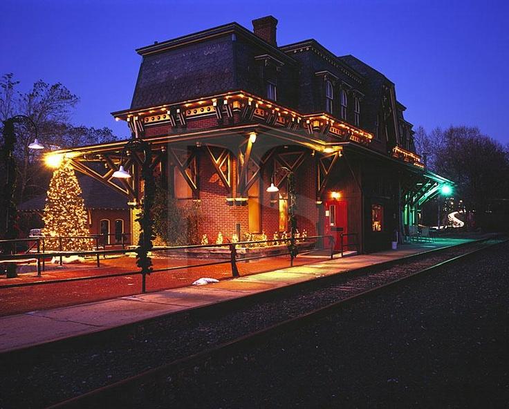 Bethlehem,Pennsylvania,Victorian,train station,history ...