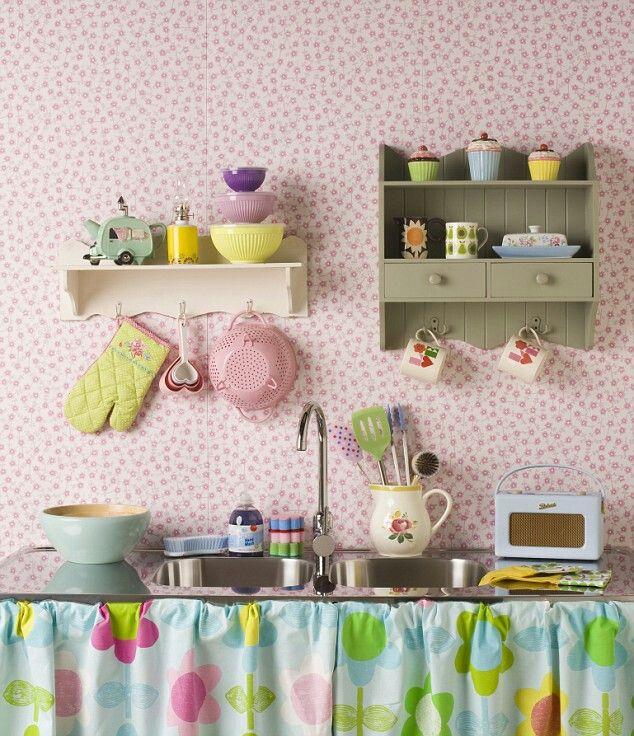 Cozinha colorida!!!