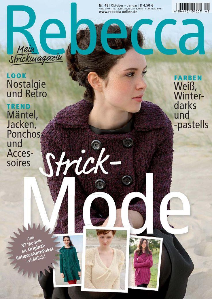Rebecca 48  Stricken mit Rebecca - Heft 48