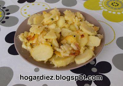 Hogar diez: Patatas a lo pobre con Chef o Matic Pro