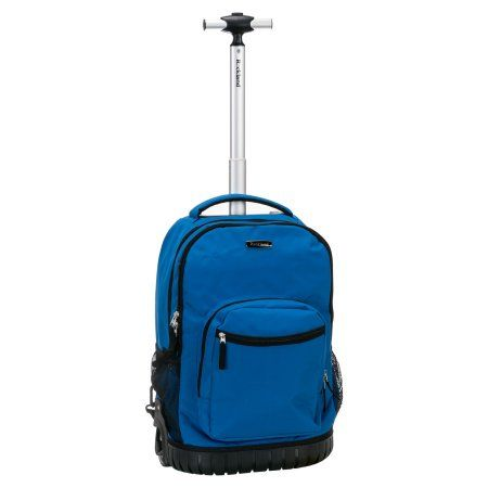 Rockland 19 inch Rolling Backpack, Multiple Colors, Blue