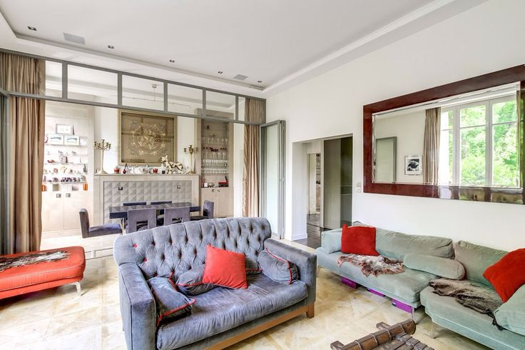 Duplex avec jardin Avenue Georges Mandel | Marc Foujols