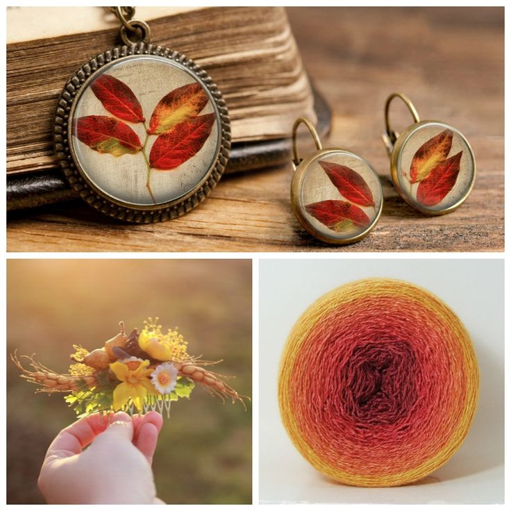 The Picture Garden: Austrian Etsy ... is smitten with autumn's colors!
