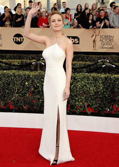 Brie Larson attends The 23rd Annual Screen Actors Guild Awards at The Shrine Auditorium on January 29, 2017 in Los Angeles.