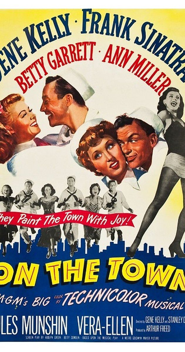 Directed by Stanley Donen, Gene Kelly.  With Gene Kelly, Frank Sinatra, Betty Garrett, Ann Miller. Three sailors on a day of shore leave in New York City look for fun and romance before their twenty-four hours are up.