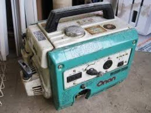 can we fix it ? small onan generator from a yard sale.