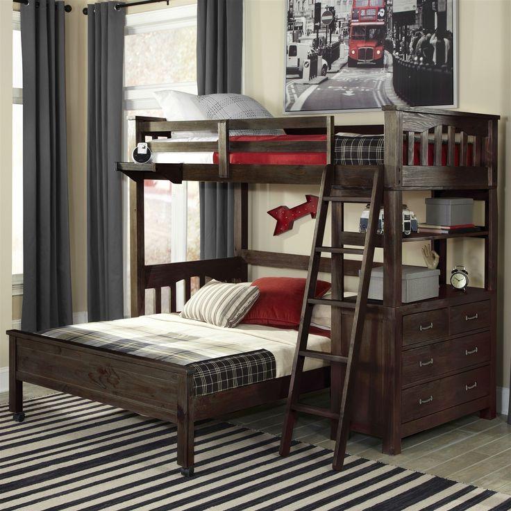1000 Ideas About Full Bed Loft On Pinterest Pallet Bunk