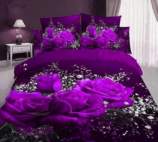 I love purple. This is a little wild n flowery. But I still like it.