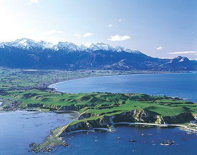 Kiakoura, New Zealand