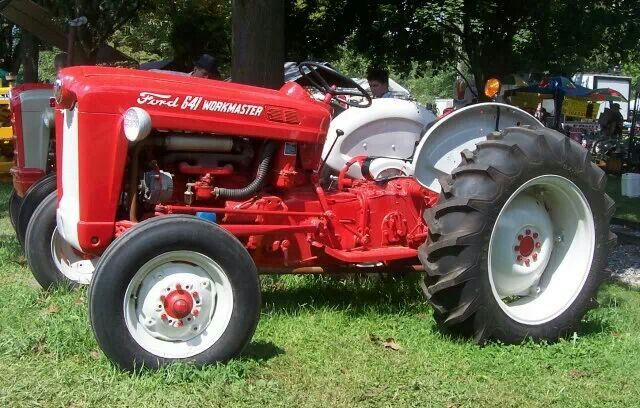 Ford 641 Workmaster Tractor : Ford workmaster