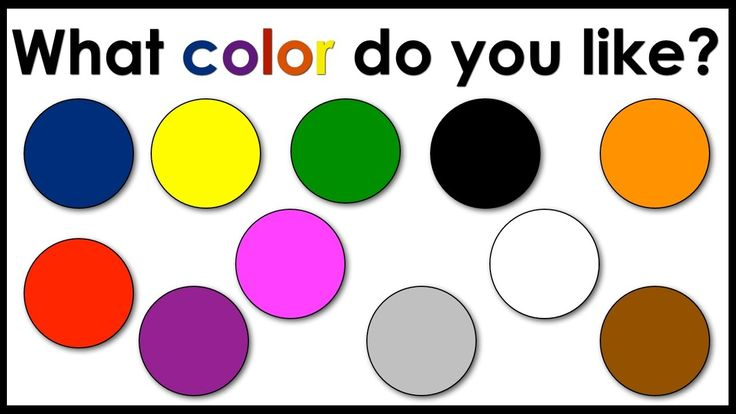 Colors | What Color Do You Like? | Easy English Conversation Practice | ESL