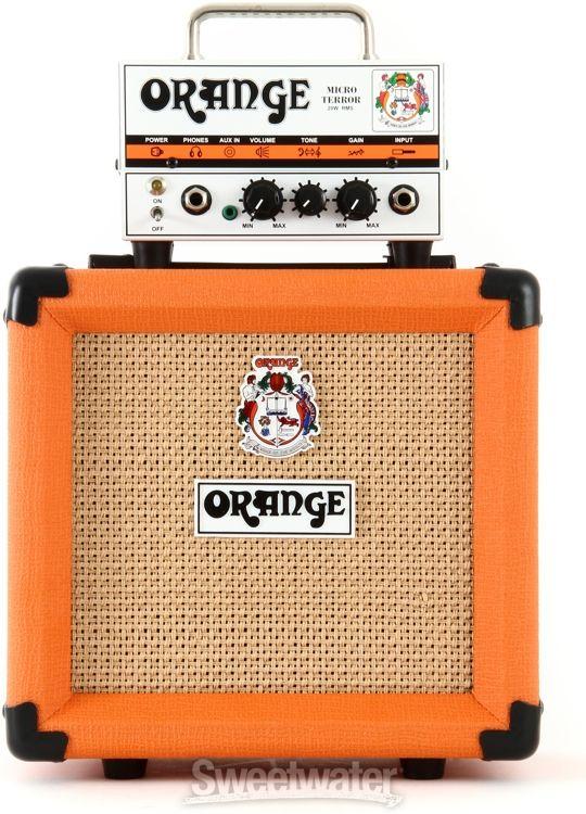 Orange Micro Terror Head and PPC108 Cabinet - Orange image 2
