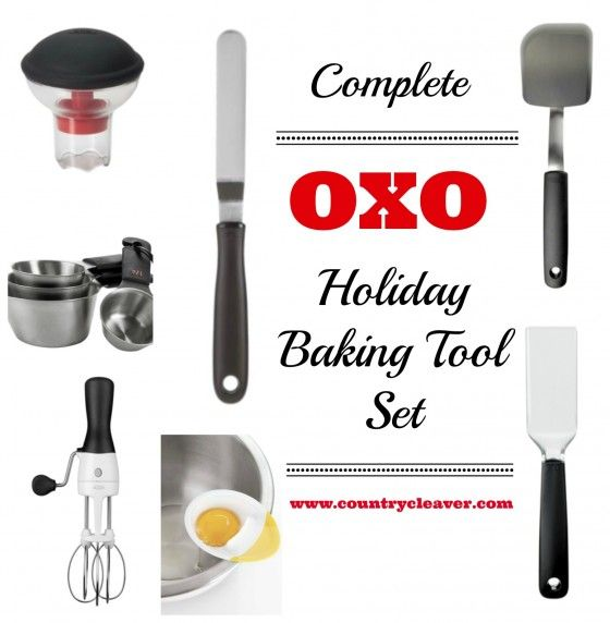 Complete OXO Holiday Baking Tool Set