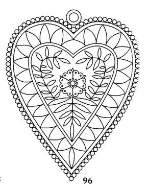 GOOD HEART EMBROIDERY - Floral  Embroidery pattern