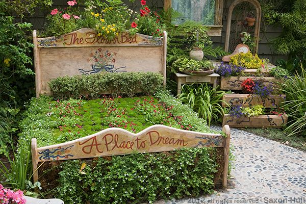 whimsical garden ideas | saxon holt garden photography photos that intrigue and provoke
