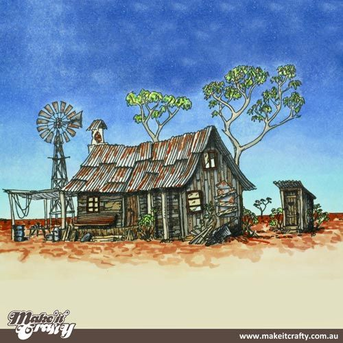 Complete outback house