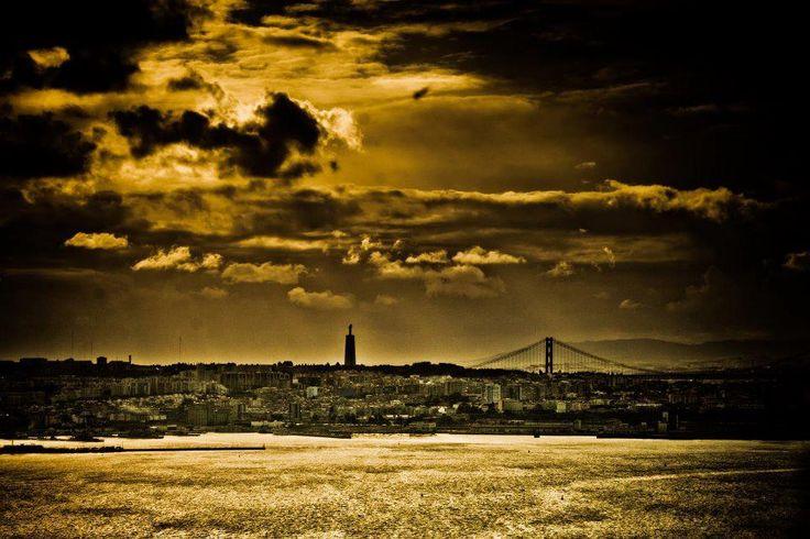 Vista de Lisboa! #RioTejo