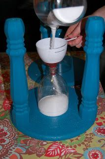 DIY instructions for a time-out stool with a built in timer.  Almost too much for for time-out . . .