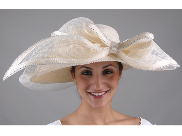 17 best images about mother of the bride outfits on for Dress hats for weddings