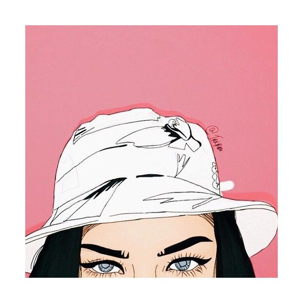 trill drawings found on Polyvore