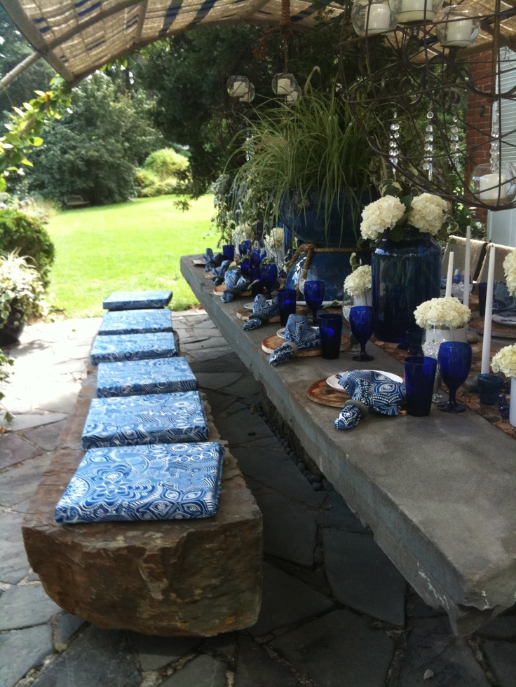 Amazing outdoor eating area!