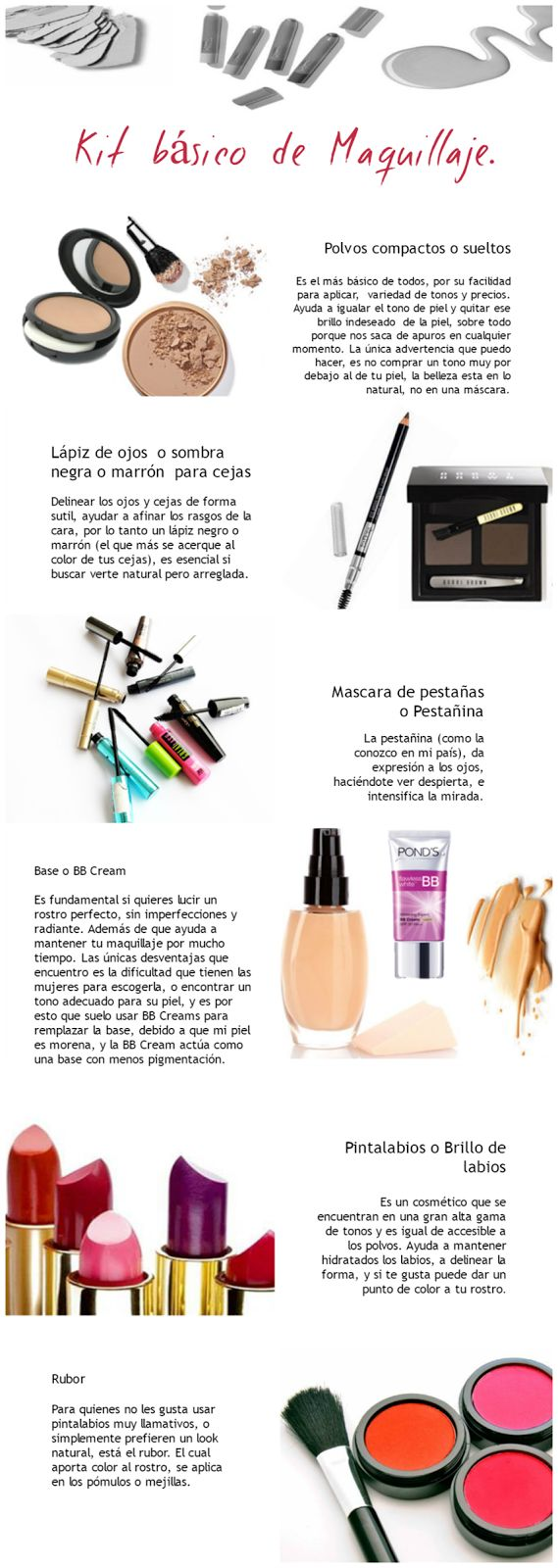 Munsh: Kit básico de Maquillaje basic, beauty, belleza, Blog, day, día, easy, esenciales, essential, Fashion, Hazlo tu mismo, Kit, lips, makeup, maquillaje, natural, productos, products, rimel, tips