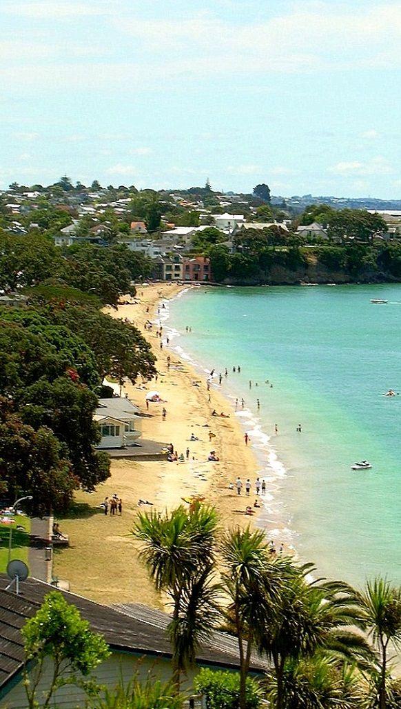 Cheltenham Beach, North Shore, Auckland, New Zealand