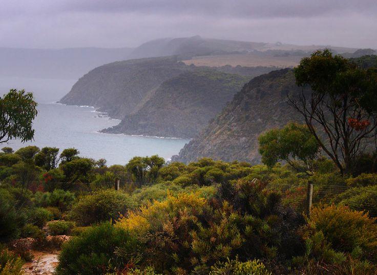 Wet and wild coast - Kangaroo Island, South Australia