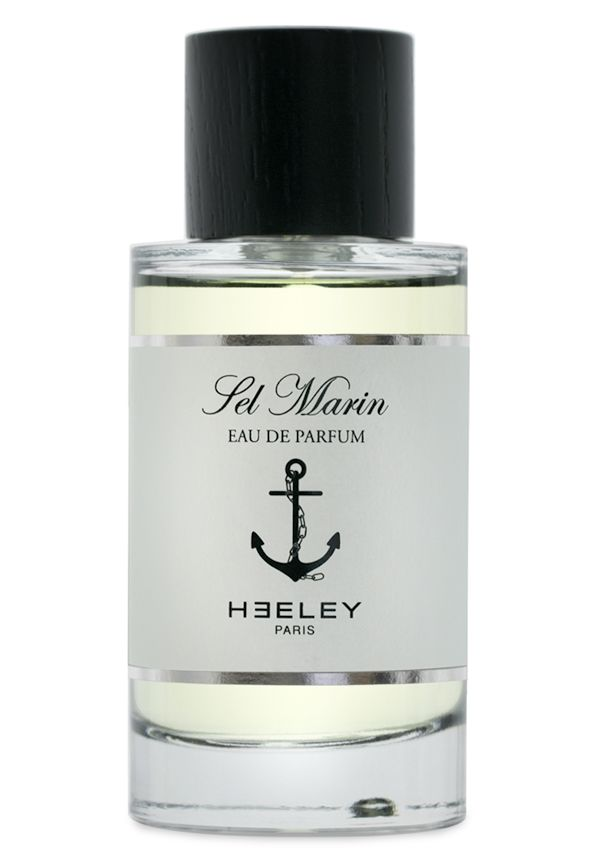 Sel Marin Eau de Parfum by HEELEY. Lemon, Sicilian bergamot, sea salt, seaweed, vetiver, birch, cedar.