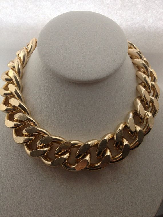 Extra Chunky Gold Chain Necklace
