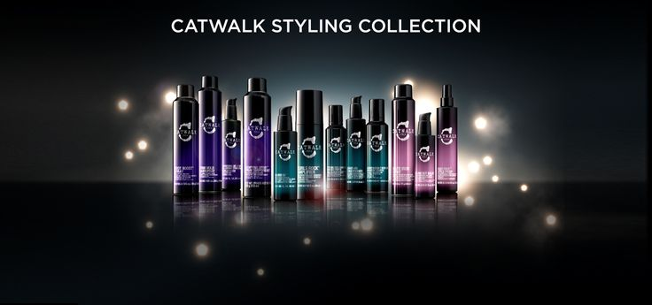 Tigi Catwalk Styling Collection.