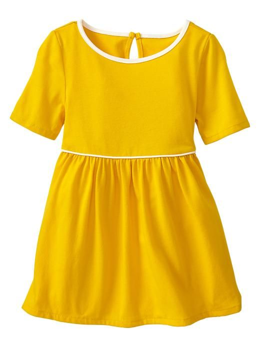 Gap | Piped dress